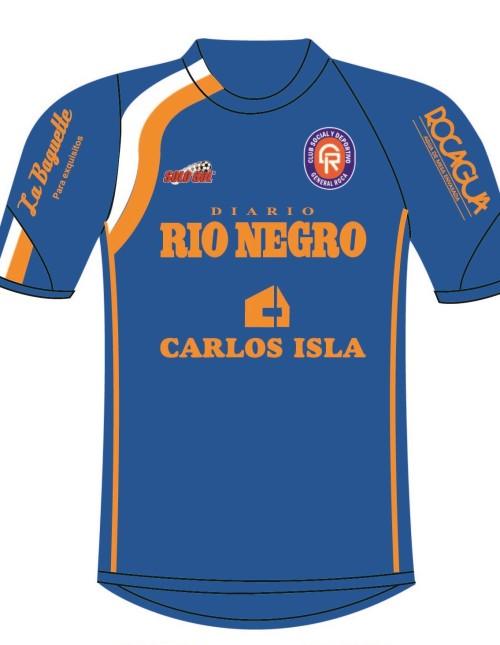7f1505ca79af4 Camiseta de futbol de club social y deportivo general roca 2